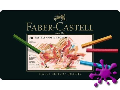 Faber-Castell Polychromos Pastellkreide 60er Metalletui – Bild 1