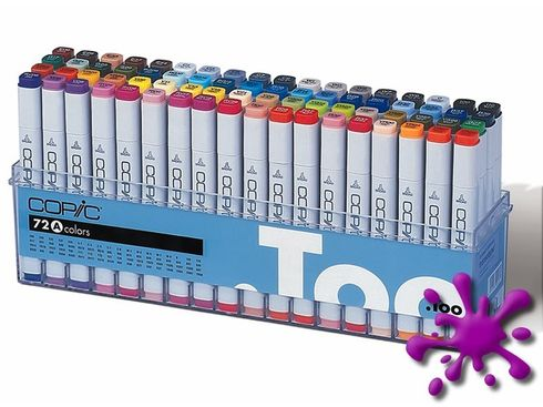 Copic Marker 72er Set - A  – Bild 1