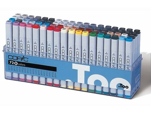 Copic Marker 72er Set - B  – Bild 1