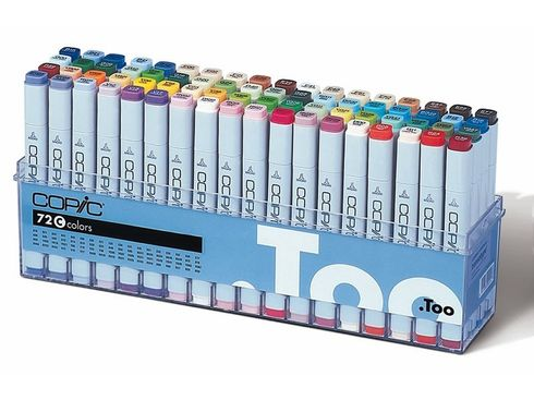Copic Marker 72er Set - C  – Bild 2