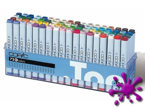 Copic Marker 72er Set - C  – Bild 1