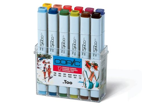 Copic Marker 12er Set - Sommerfarben  – Bild 1