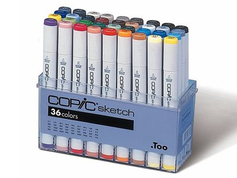 Copic Sketch 36er - Set  – Bild 2