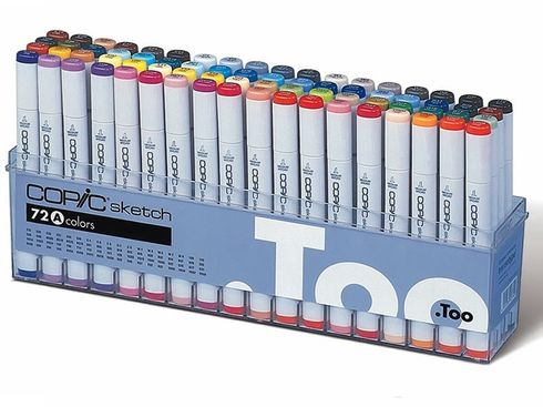 Copic Sketch 72er Set - A  – Bild 1