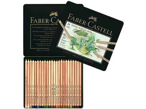 Faber-Castell PITT Pastellstifte 24er Metalletui