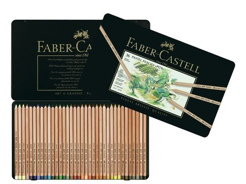 Faber-Castell PITT Pastellstifte 36er Metalletui