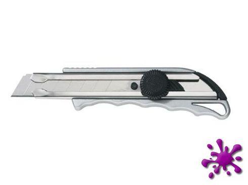 Ecobra 770530 - Cutter, Klinge 18 mm Metallgehäuse, Klinge 0,7 mm