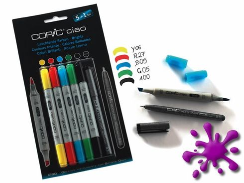 Copic Ciao 5+1 Set Leuchtende Farben - 22075550 – Bild 2