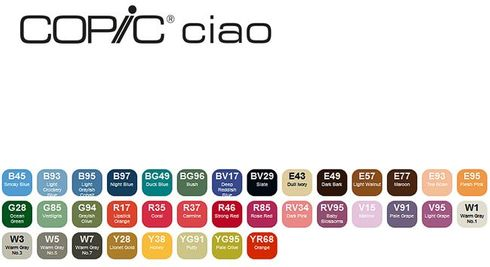 Copic Ciao 36er Set - D  – Bild 2
