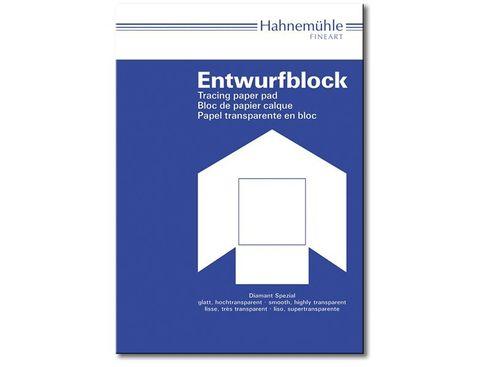 Hahnemühle Entwurfblock hochtransparent 110/115g - DIN A3 - 50 Blatt – Bild 2
