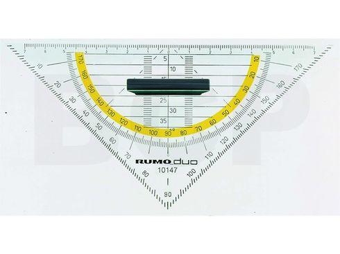 Rumold 10147 Geometrie-Dreieck 160mm abnehmbarer Griff  – Bild 1