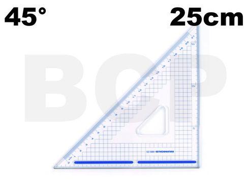 Rumold Schneidedreieck mit Stahlkante -  25cm 45° – Bild 2