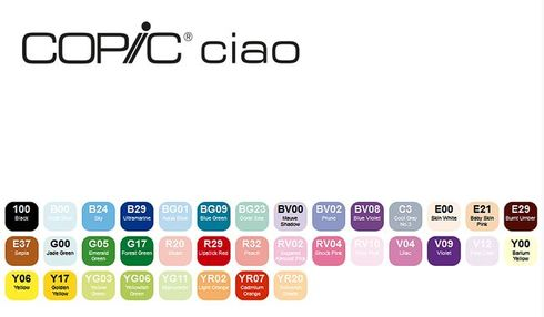 Copic Ciao 36er Set - A – Bild 2