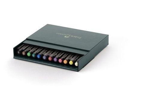 Faber-Castell PITT Artist Pen 12er brush Atelierbox – Bild 1