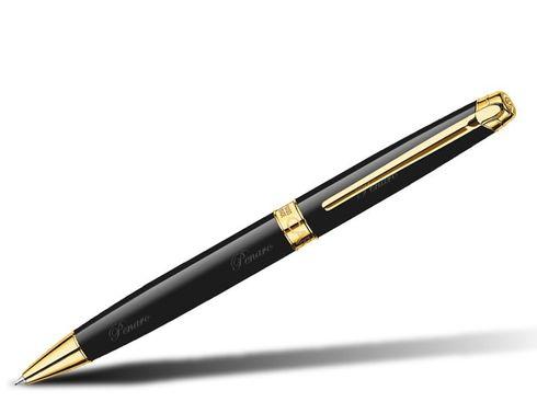 Caran d'Ache Kugelschreiber Léman Ebony gold - 4789.282 – Bild 1