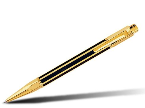 Caran d'Ache Kugelschreiber Varius Chinalack goldplattiert - 4480.018 – Bild 1
