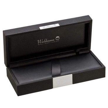 Waldmann Füllfederhalter Tango weiß Ring-Design - Goldfeder F – Bild 2