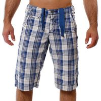 M.O.D by Monopol Shorts DASHES marine offwhite checked M.O.D SU11-BS58