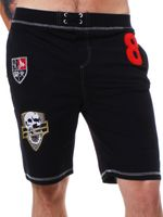 ReRock Herren Sweat-Trainings Shorts KNIGHTHOOD schwarz 711-3499