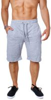 Rerock Herren Shorts kurze Sweatpants Freizeit Jogging Trainings Hose Capri Bermuda 1039