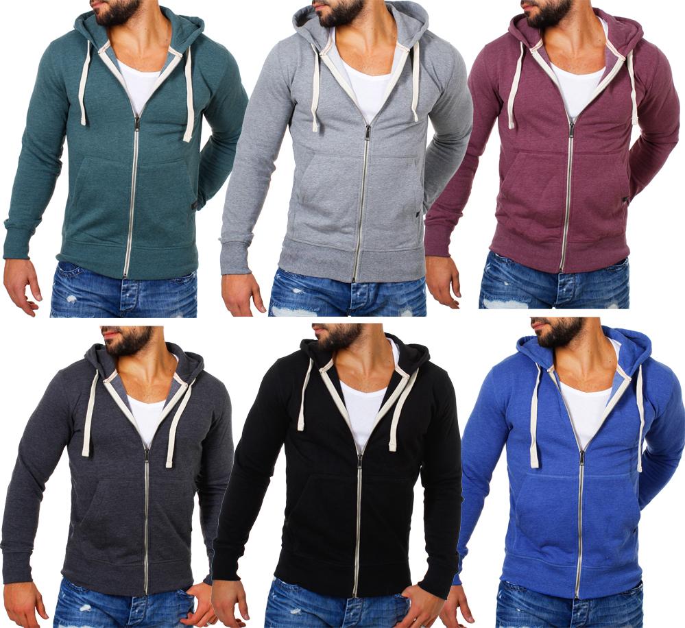 Young   Rich Herren Sweatjacke Sweatshirt Pullover mit Reißverschluss  Kapuze 904 67a229bdfc