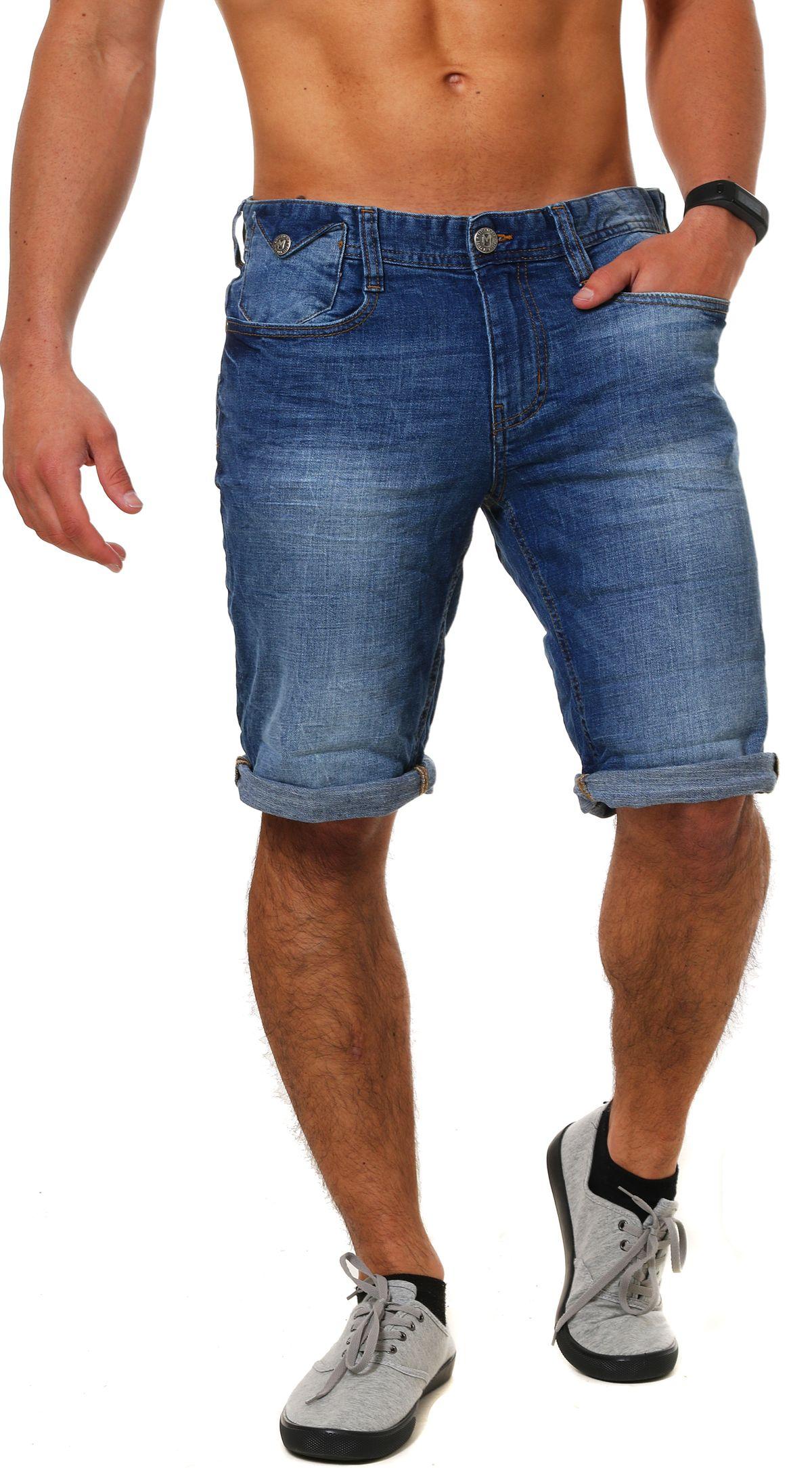 M.O.D Herren Jeans Shorts Joshua kurze Hose Bermuda MOD buffallo ... 292f84f58f