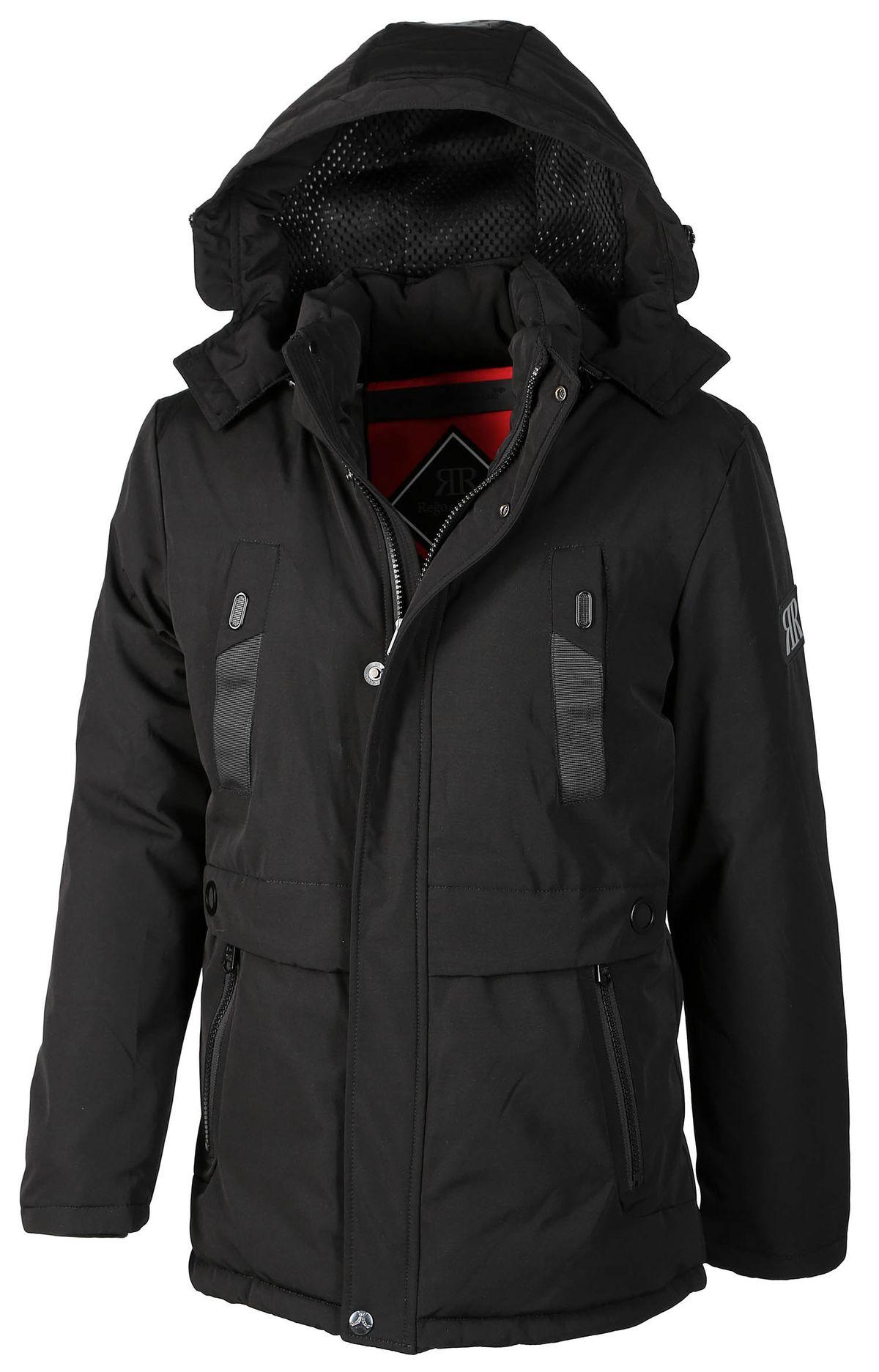 Hooded Show Mens Parka Richard Details Warm Regino Original Title Regoamp; Winter Jacket Coat About Lined qS4ARjc35L