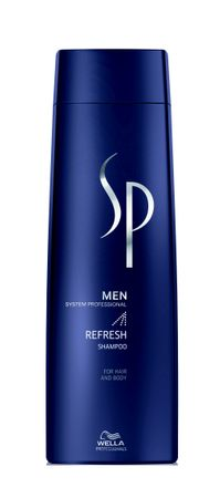 Wella SP System Professional Men Refresh Shampoo 250 ml