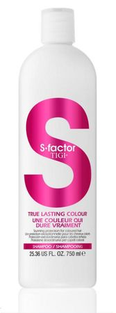 TIGI S Factor True Lasting Colour Shampoo 750 ml