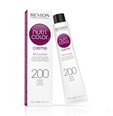 Revlon Nutri Color Creme Pigment Kur Tube 200 Violett 100 ml