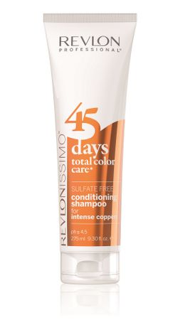 Revlon 45 Days Revlonissimo Total Color Care 2in1 Shampoo Coppers 275 ml