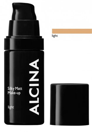 Alcina Silky Matt Make Up Light 30 ml