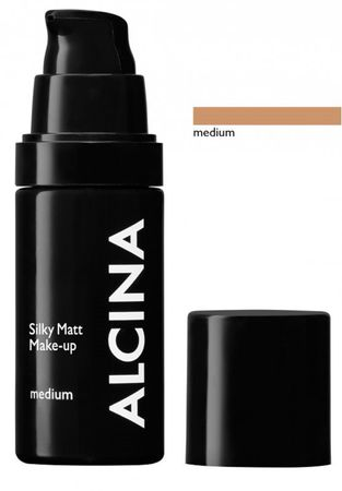 Alcina Silky Matt Make Up Medium 30 ml