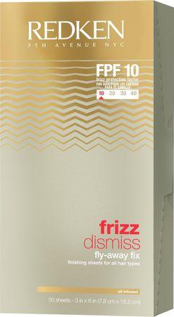 Redken Frizz Dismiss Fly Away Fix Sheets 50 Stück