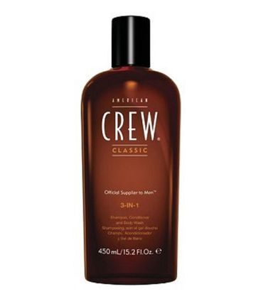 American Crew 3 in 1 Shampoo Conditioner & Body Wash 100 ml