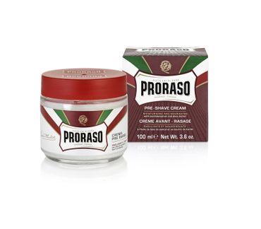 PRORASO Pre Shave Creme Rot 100 ml