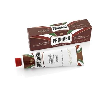 PRORASO Rasiercreme Rot in der Tube 150 ml