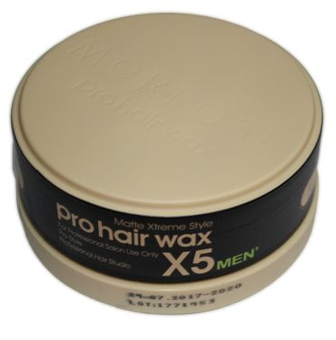 Morfose Professional Pro Hair Wax X5 Men Matte Xtreme Styling 150 ml