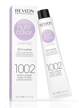 Revlon Nutri Color Creme Pigment Kur Tube 1002 Platinum Weiß 100 ml
