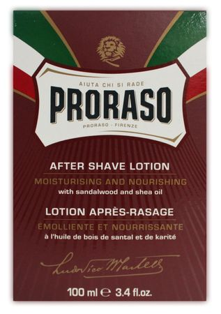 Proraso After Shave Lotion Rot 100 ml