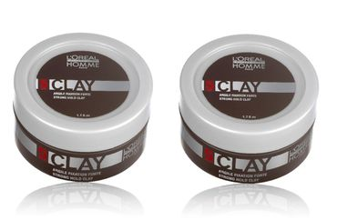 2er Loreal Professionnel Homme Clay Paste 50 ml