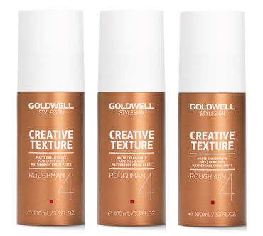3er Goldwell Stylesign Creative Texture Roughman 100 ml