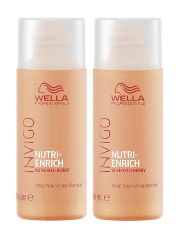 2er Wella Professionals Invigo Nutri Enrich Shampoo 50 ml