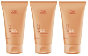 3er Wella Professionals Invigo Nutri Enrich Express Maske 150 ml