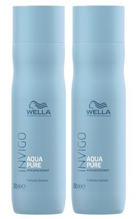 2er Wella Professionals Invigo Aqua Pure Shampoo 250 ml