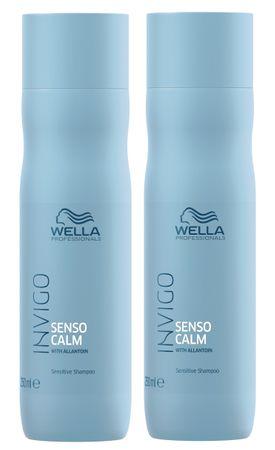 2er Wella Professionals Invigo Senso Calm Shampoo 250 ml