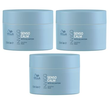 3er Wella Professionals Invigo Senso Calm Maske 150 ml