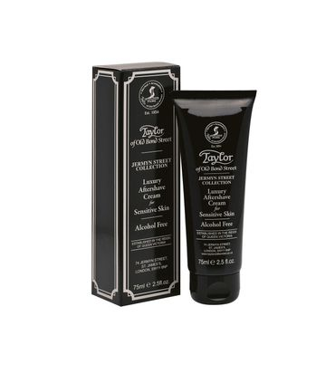 Taylor Jermyn Street Collection Luxury Aftershave Cream for Sensitive Skin 75 ml