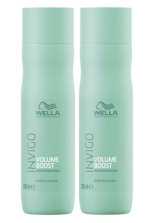 2er Wella Professionals Invigo Volume Boost Shampoo 250 ml