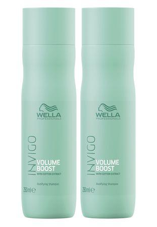 2er Wella Professionals Invigo Volume Boost Shampoo 250 ml